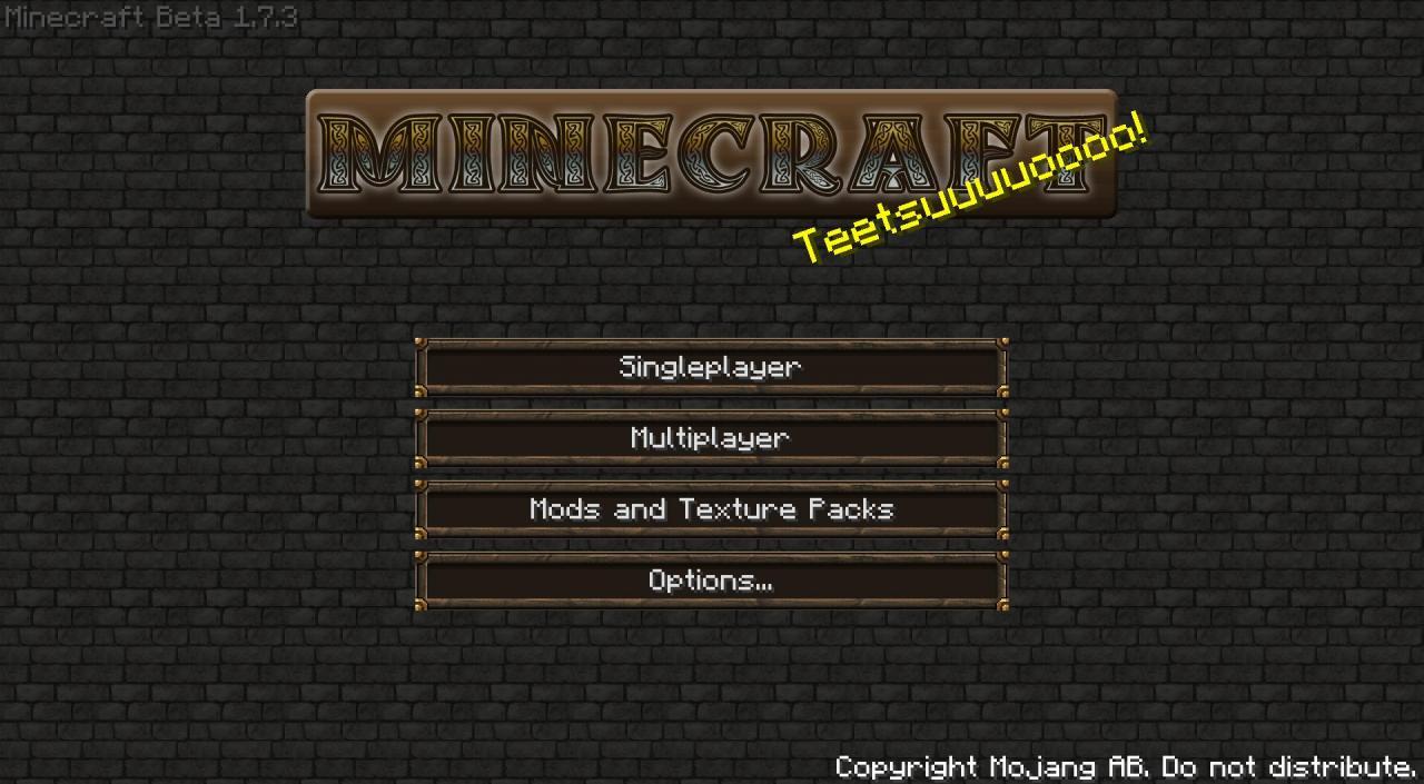 Minecraft HD 128x64 TexturePack For Beta 1 7 3 Minecraft