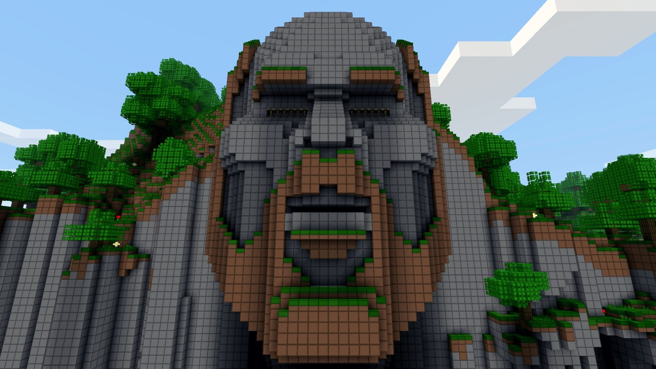 the temple of notch minecraft project
