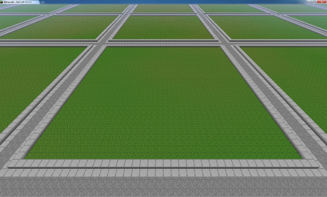 500 plotsfreebuildtown server templatecustomize it yourself this is how big the plots are gumiabroncs Image collections