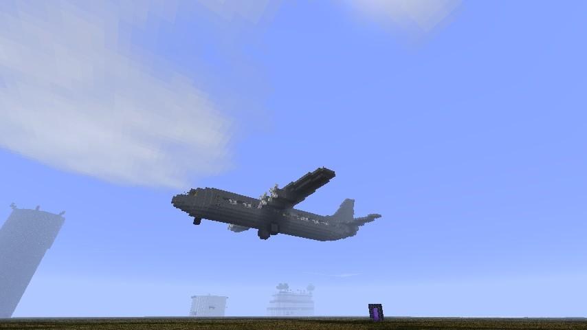 Ac 130 Minecraft Project