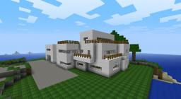 My ultra modern minecraft house