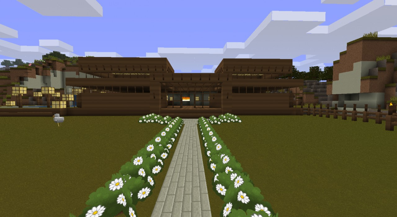 The First House I Ever Built Minecraft Project