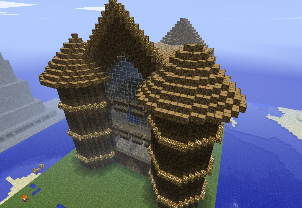 Wooden Mansion By Drlava Minecraft Project