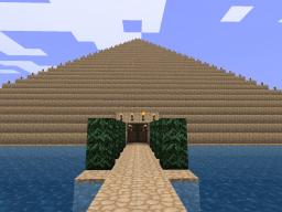 Pyramid with housing inside Minecraft Map & Project