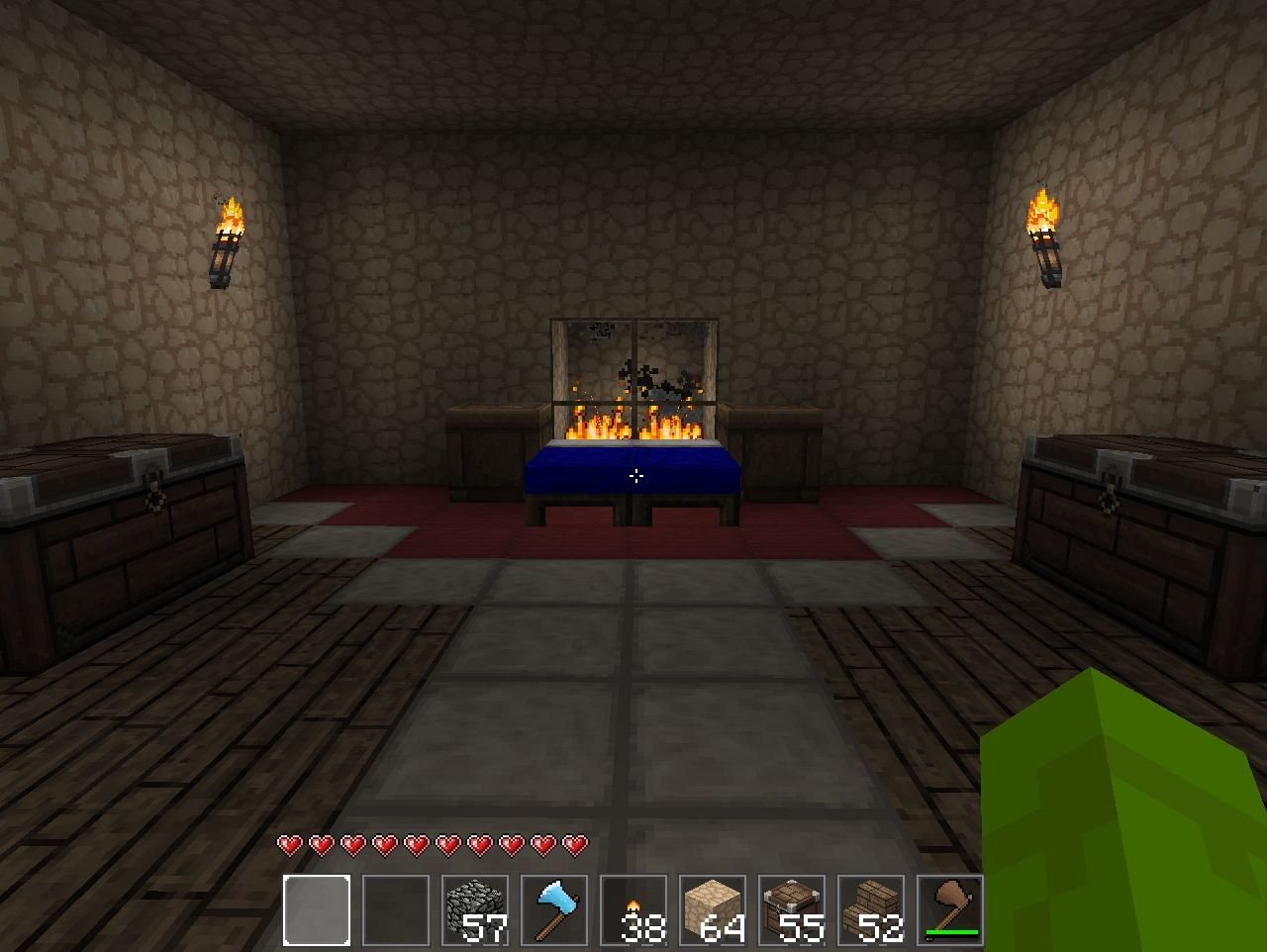 Pyramid With Housing Inside Minecraft Project