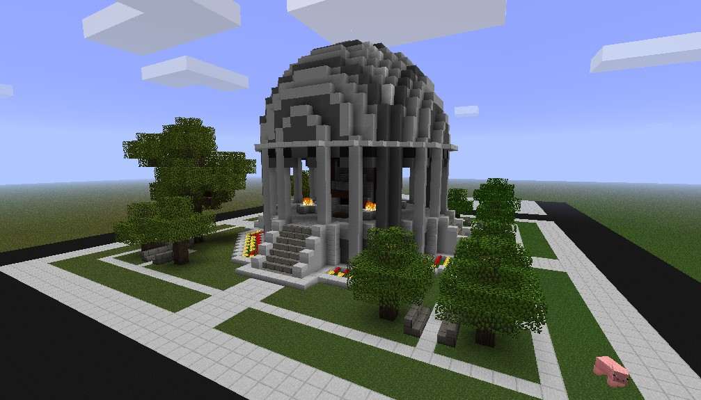 Notch Monument Minecraft Project