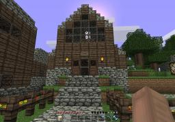 Medieval Harbour Town Minecraft Project