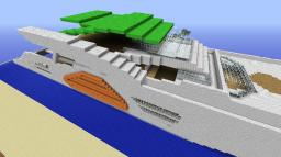 Yacht (the BIG one) Minecraft Map & Project
