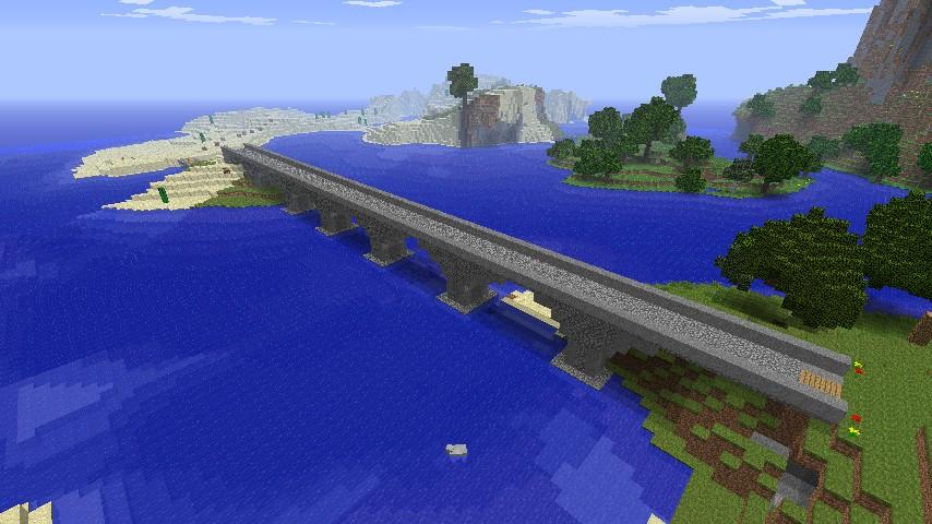 Small Simple Viaduct Bridge Minecraft Project