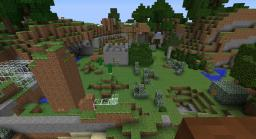Awesome war game Minecraft Map & Project