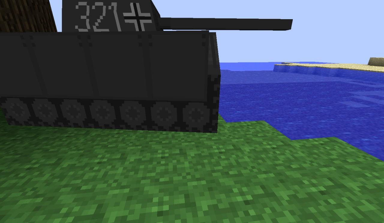 Close up of Panzer tank!