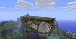 Airship Fleet (Grand Carrier) Minecraft Project