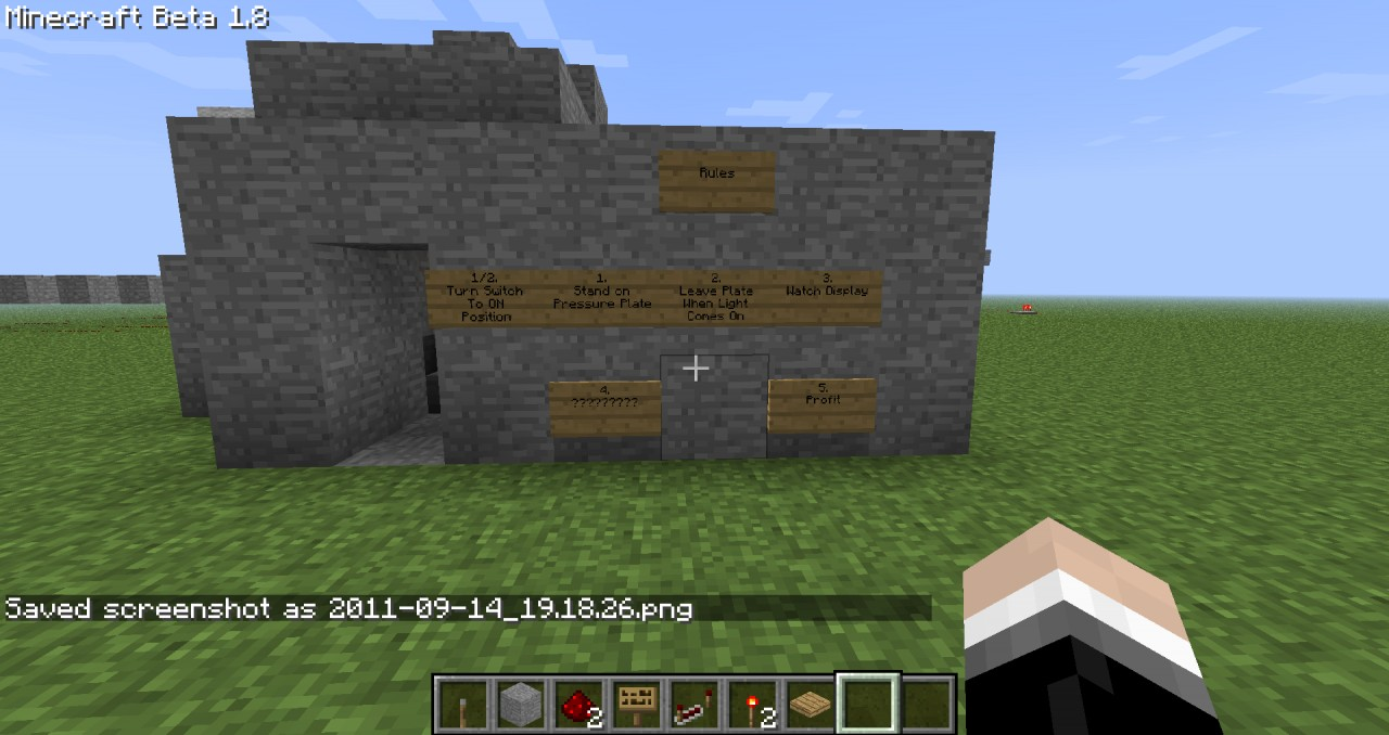 Redstone Random Number Generator Minecraft Project Based Game