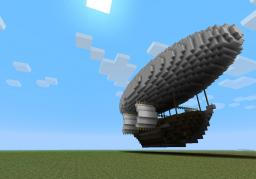 Three Musketeers inspired Airship Minecraft