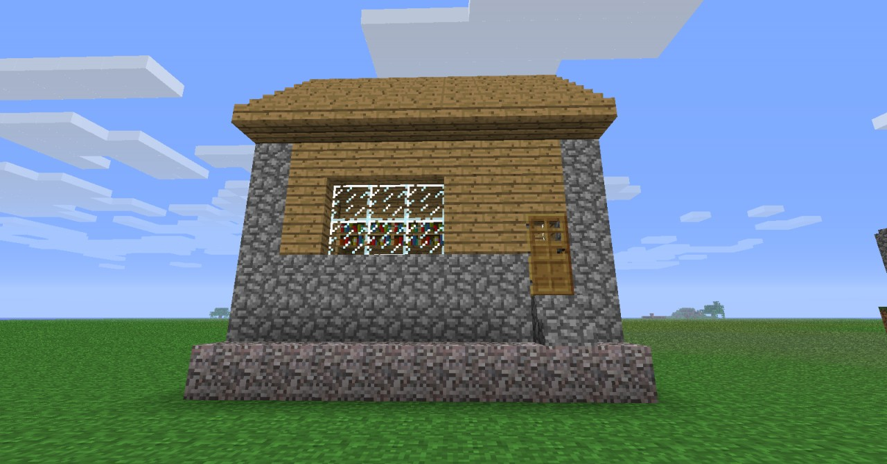 Minecraft NPC Village House 1280 x 670