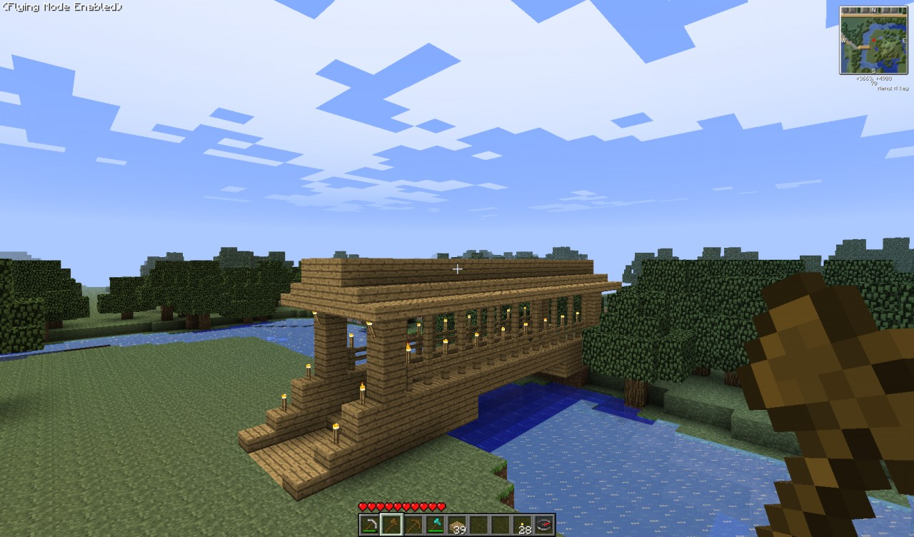 minecraft schematic file viewer html with Wooden Covered Bridge on Fortnite Battle Bus 4097354 as well Through Arch Bridge furthermore Modern House Series 2 1131927 also Library 1374713 also Apartment  plex 1424865.