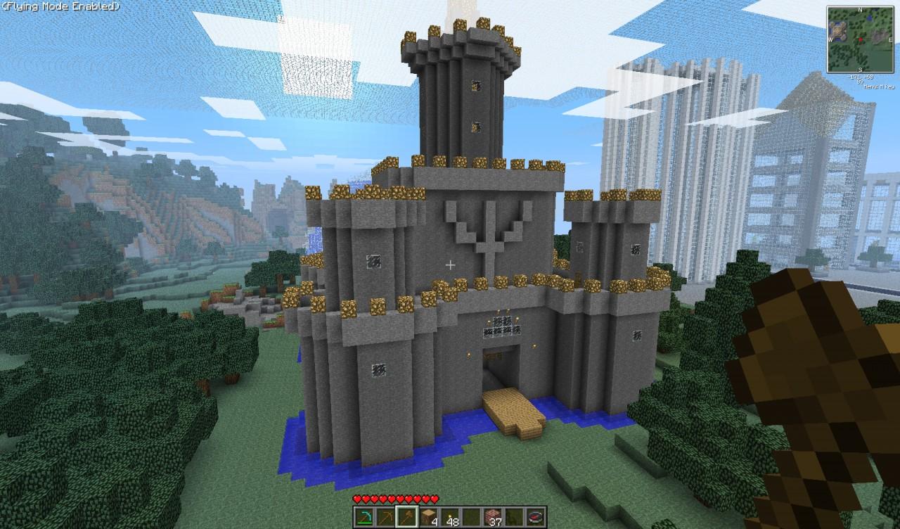Old School Castle Minecraft Map