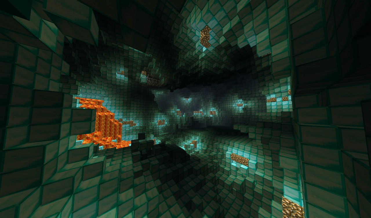 diamond caveMinecraft Diamond Cave