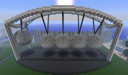 Newton's cradle Minecraft Project