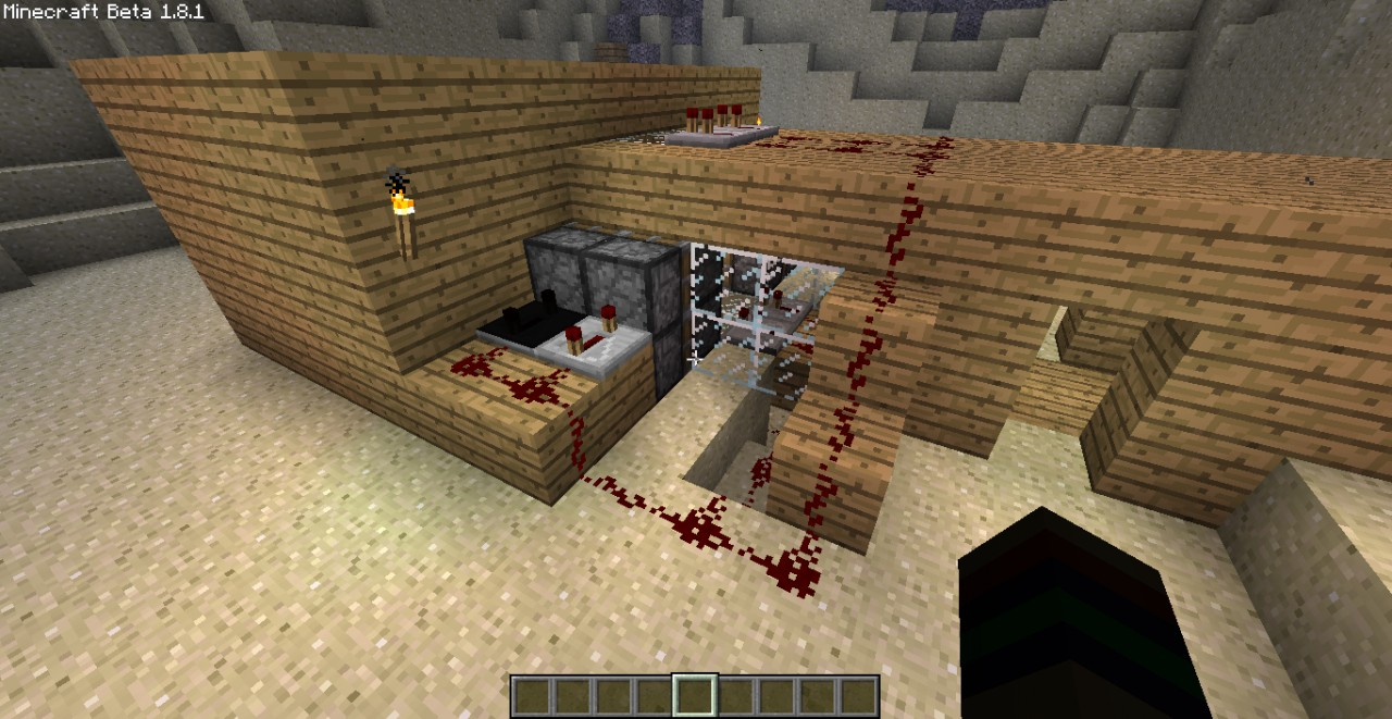 how to make one way glass in minecraft