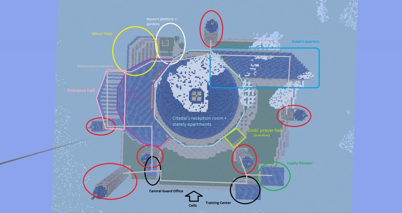 September 17th 2011 update : Skyview : organisation plan (not final plan)