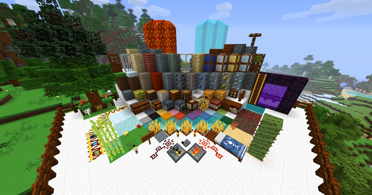 Xaiwaker 16x Continued in 32x! Link inside! Minecraft Texture Pack