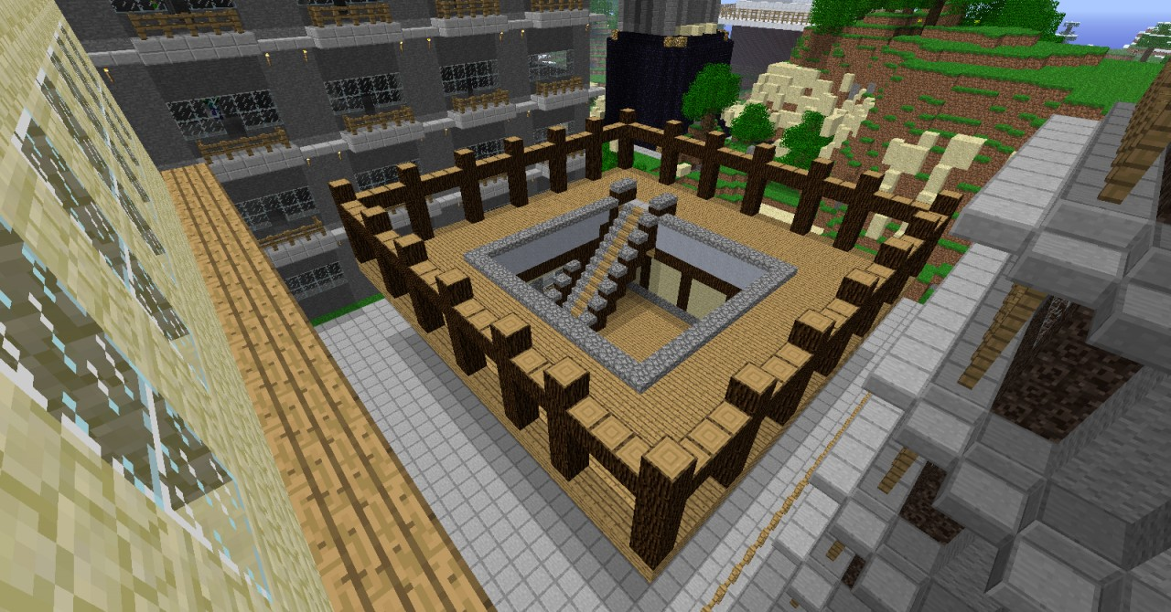 Market Square Minecraft Project