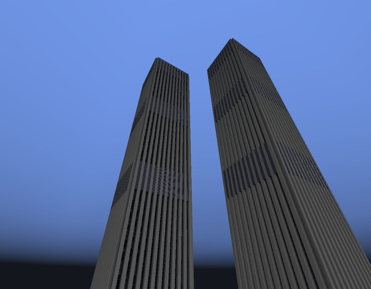 1972 world trade center complex minecraft project