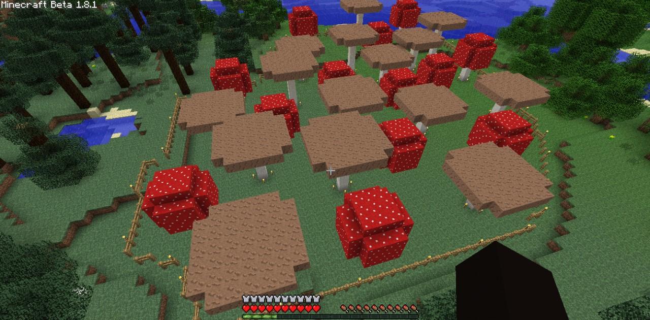 mushroom farm minecraft