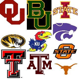 big 12 logo teams - photo #8