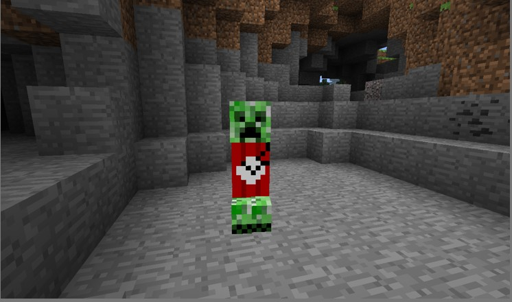 Creeper Terrorissssst Minecraft Texture Pack