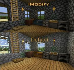 [16x]  The New:  iModify  V1.4   For MC Version 1.9 Minecraft Texture Pack