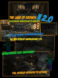 Land of Kronos Minecraft Map & Project