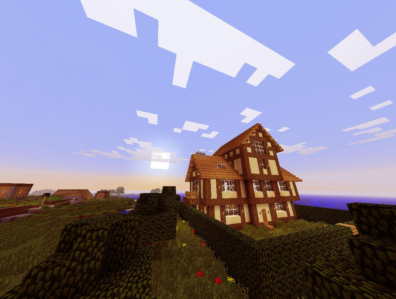 European Medieval House Minecraft Project
