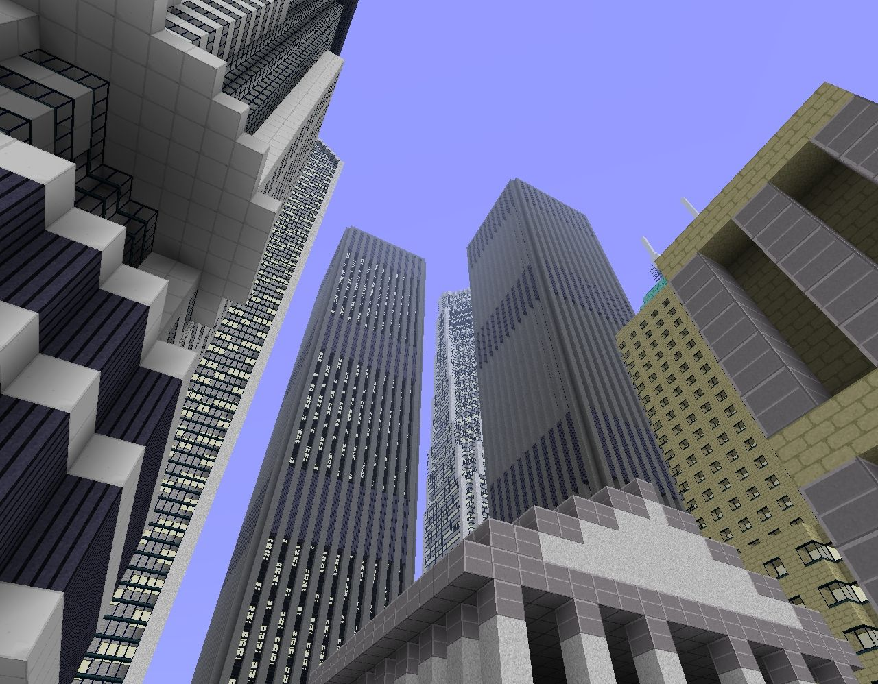 Community Collection Project New York City Please Comment - Nyc map minecraft