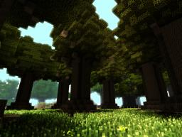 2'nd screen of my garden-forest Minecraft Blog Post