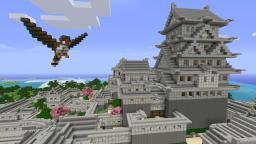 Himeji Castle, Japan Minecraft Map & Project
