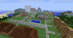 The Iron Pumpkin City Minecraft Map & Project