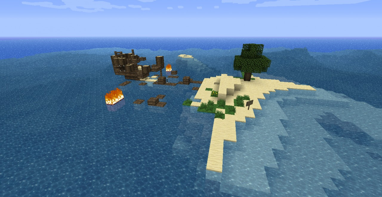 Survival Island Stranded V1 4 Minecraft Project
