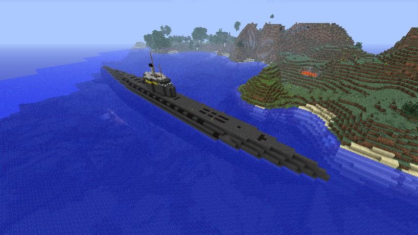 U Boat Xxi Minecraft Project