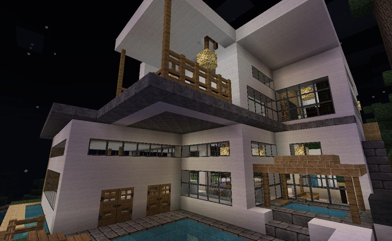 Самый роскошный дом в майнкрафте фото