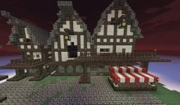 Bowerstone City Market District Minecraft