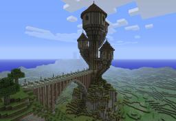 Medieval Wizards Tower Minecraft Map & Project