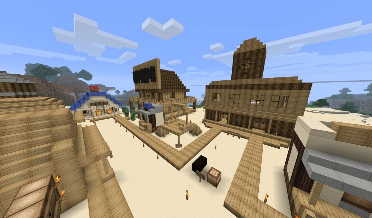 Western Town Minecraft...