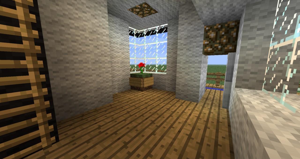 Modernhouse Mk 1 Minecraft Project