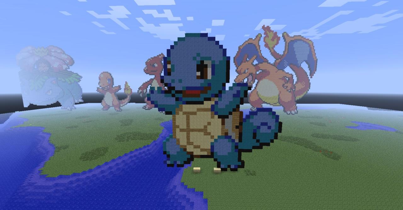 Pixel Build Minecraft