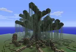 Medieval Swamp WorldTree Minecraft Map & Project