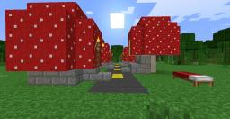 Toad's Village Minecraft Map & Project