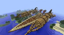 The Cursed Airship of Neptune. Minecraft