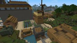 A Big Map with Town / Eine Grosse Karte mit Stadt Minecraft Map & Project